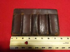 Vintage Leather Magazine Pouch Case