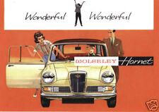 WOLSELEY Collectors Card Set - 4/44, 1500, Hornet 6/110, 1100 & Six model images