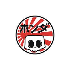Sticker plastifié Japan SKULL HONDA - Hornet CBR CBF VFR 6cm x 6cm