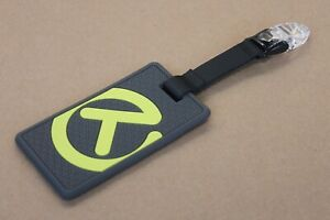 Scotty Cameron Gallery Circle T Lux Rubber Leash Bag Tag Gray Neon New