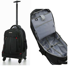 "Aerolite 21"" 4 Wheel Trolley Backpack Mobile Office Business Cabin Luggage"