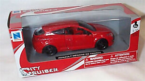 Renault Megane RS Trophy in Red 1:32 Scale Diecast  Newray New in Box