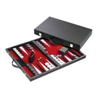 Backgammon - Koffer - Stelios - Kunstleder - groß
