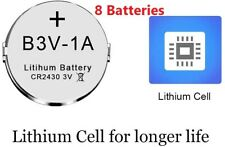 8 Pack 1A Lithium  Battery For High Tech Pet Single Electronic Collar