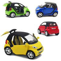 1:24 Scale Alloy Smart Car Model Kid Toy Vehicle Diecast W/ Music Sound Light
