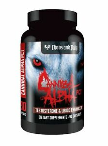 Chaos and Pain Cannibal Alpha 90 Caps PCT enhance libido and boost test
