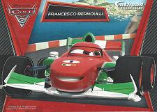 FRANCESCO BERNOULLI DISNEY PIXAR CARS 2 FATHEAD TRADEABLES REMOVABLE STICKER