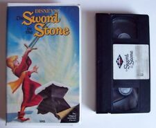 Disney BLACK DIAMOND The Sword in the Stone VHS 1998 Original Case & Art