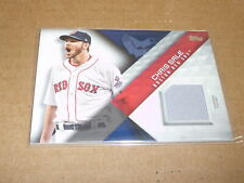 2018 Topps Material CHRIS SALE GAME JERSEY RED SOX E1341