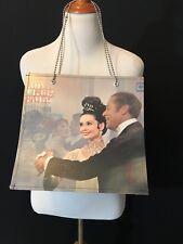 audrey hepburn my fair lady record purse tote bag