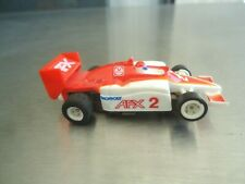 Tomy AFX HO Slot Car Indy Car #2 AS-IS