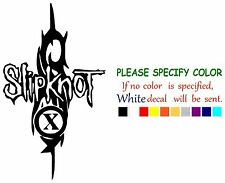 SLIPKNOT rock music Funny Vinyl Decal Sticker Car Window bumper laptop tablet 7""