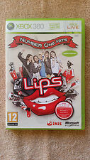 LIPS number one hits  Xbox 360 / complet / dvd sans rayure
