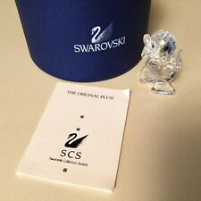 Swarovski Crystal Figurine #10007 Miniature-Drake Standing Duck RARE New in Box