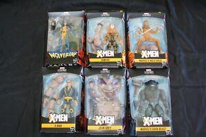 x-men Marvel Legends Series - wolverine - bark beast - sunfire - jean grey ....