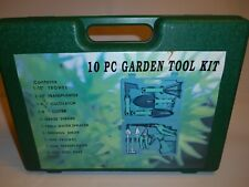 10 Piece Garden Hand Tool Kit New In Case