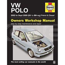 Haynes VW Polo Petrol & Diesel 2002 to September 2009 - Car Manual (4608)