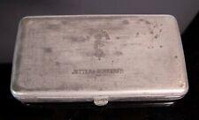 VINTAGE MEDICAL INSTRUMENT TIN case box - JETTER & SCHEERER