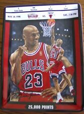 Upper Deck Michael Jordan: Ticket to Greatness 25,000 Points by Glen Green Plate