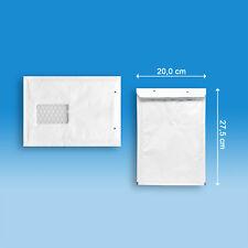 25 aroFOL® win - Gr. 4 - die Luftpolsterversandtasche mit Fenster - Farbe weiß