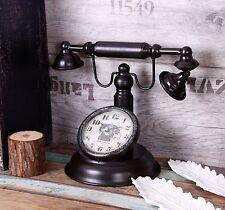 Clock Phone Old Retro Vintage Antique Decoration Decor 19th Century Style