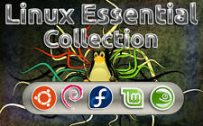 Linux Essential Collection 5 Full Operating Systems