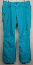Patagonia Womens Powder Bowl Ski Pants Large Goretex Insulated Recco Blue