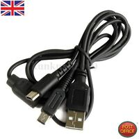 USB Power Charging Charger Cable Cord Adapter FR Nintendo 3DS,DSi XL DS Lite/New