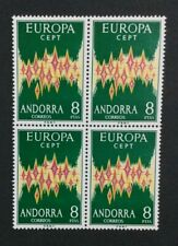 MOMEN: ANDORRA CEPT # 1972 MINT OG NH $600 BLOCK LOT #5712*