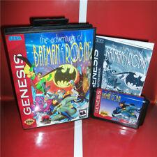 The Adventures Of Batman & Robin 16bit MD Game Card Sega Mega Drive And Genesis