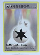 Pokemon Card - Double Colorless Energy - 90/108 - Evolution