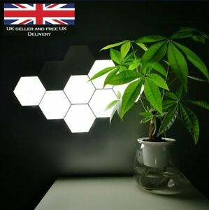 Quantum Hexagonal Touch Light Wall LED Night Lamp Creative Bedside Modular Light