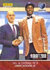2018-19 Panini NBA Draft #DN4 Jaren Jackson Jr Basketball Card Grizzlies PR: 285