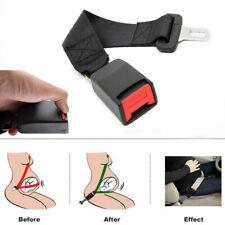 Universal Car Adjustable Seat Belt Extension Extender Nylon Safety Buckle Clip