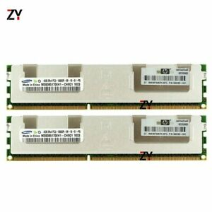 16GB (4x 4GB) Samsung PC3-10600R 1333MHz DDR3 ECC 2Rx4 Reg Server Memory