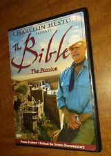 THE BIBLE Charlton Heston Presents The Bible, The Passion (DVD, 2004)