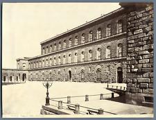 Italie, Firenze, Palazzo Pitti Vintage albumen print.  Tirage albuminé  18x2