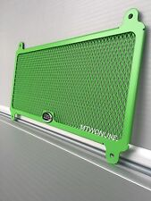 R&G Motorcycle GREEN Radiator Guard for a KAWASAKI Z650 2017 Brand New