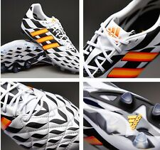 ADIDAS 11 PRO FG WORLD  CUP BLACK/WHITE/ORANGE UK 10