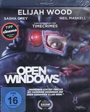 BLU-RAY NEU/OVP - Open Windows - Elijah Wood, Sasha Grey & Neil Maskell