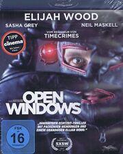 BLU-RAY NEU/OVP - Open Windows - Elijah Wood, Sasha Grey & Neil Maskell