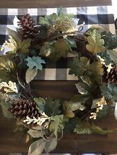 """farmhouse door wreath 16"""""""