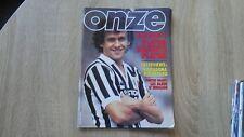 ONZE (MONDIAL) No 88 (04-1983) + Poster EQUIPE FRANCE - Hrubesch Bruno Pezzey