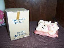 Interpur -Made in Taiwan -Cat / Kitten -Refrigerator Freshener - Ceramic - Cute
