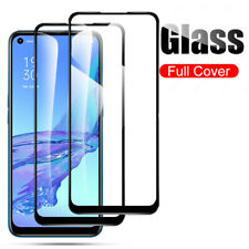9H Full Cover Full glue Tempered Glass For OPPO A73 A15 Reno6 5G A53s A94 A95 K9
