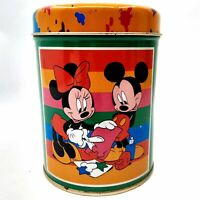 Disney Mickey & Minnie Mouse Tin Box Company Collectible Tin Storage Container