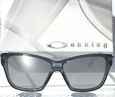 NEW!  Oakley HOLD ON Crystal Black w Chrome Lens Women's Sunglass 9298-03