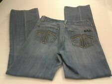 Seven 7 Studio Denim Boot Cut Women's Stretch Jeans Womens Size 30X31-Size 6
