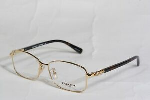 New Authentic Coach Eyeglasses HC 8083 9238 Gold /Dark Tortoise 53-14-135