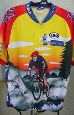 LOUIS GARNEAU GREAT CYCLING JERSEY SZ XXL